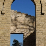 Light and shadow at the ruins in St.Norbert.<br /><em>Submitted by C. Napper</em>