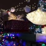 Holiday float.<br /><em>Submitted by M. LeBlanc</em>