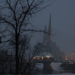 Frozen city.<br /><em>Submitted by M. LeBlanc</em>