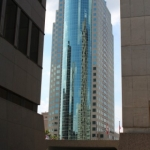 Looking up at 201 Portage.<br /><em>Submitted by Jenna Friesen.</em>