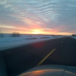 Winter morning drive.<br /><em>Submitted by Noah Erenberg</em>