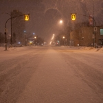 Snow blown Osborne Street.<br /><em>Submitted by Gregory McNeill</em>