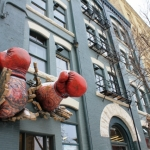 Breaking through: Pan Am Boxing Club.<br /><em>Submitted by Greg Petzold</em>