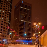 Cold and frosty downtown in the middle of the night.<br /><em>Submitted by Gregory McNeill</em>