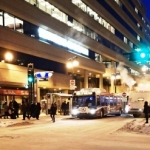 Graham Bus Mall at minus 30.<br /><em>Submitted by Greg Petzold</em>