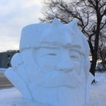 Snow sculpture season.<br /><em>Submitted by Marie LeBlanc</em>