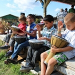 Young drummers at Matlock Festival..<br /><em>Submitted by Noah Erenberg.</em>