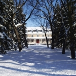 Winter scene: Archbishop's residence St.Boniface.<br /><em>Submitted by Greg Petzold</em>