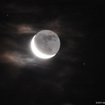 Moon shadow.<br /><em>Submitted by Doug Kretchmer</em>