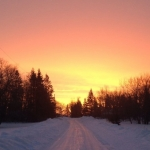 March sunrise - Matlock, Manitoba.<br /><em>Submitted by Bee Erenberg</em>