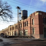 Sunrise on T. Eaton Company Warehouse<br /><em>Submitted by Greg Petzold</em>