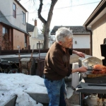 Happy to be barbecuing, finally!<br /><em>Submitted by Marie LeBlanc</em>