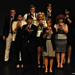 A cappella ensemble 'Antiphony' performed last night at U of W Asper Theatre.<br /><em>Submitted by Doug Kretchmer</em>