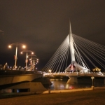Esplanade Riel and Provencher Bridge.<br /><em>Submitted by Alyssa McDonald</em>