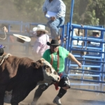 Hats off to bullfighter Bob Scott.<br /><em>Submitted by Linda Walker</em>