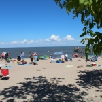 Warm July weather has prompted many to visit Lake Winnipeg beaches.<br /><em>Submitted by Noah Erenberg</em>
