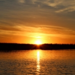 September sunset on Netley Marsh.<br /><em>Submitted by Noah Erenberg</em>